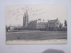 CPA VALLEE DE LA MEUSE L'Abbaye De Maredsous 1918 T.B.E