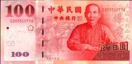 TAIWAN 100 YUAN De 2001  Pick 1991   UNC/NEUF - Taiwan