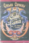 CIUDAD DE LUNA ENTRE TABORDA Y LITUANIA POEMAS LIBRO AUTOR CARLOS CAPORALI DEDICADO Y AUTOGRAFIADO POR EL AUTOR - Poesía
