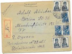 Russia Letter Odessa 1939 N. Berlin DR Mif. (12)