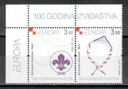 Kroatien / Croatia / Croatie Paar/pair 2007 EUROPA ** - 2007