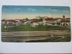Romania-Techirghiol/general View,3 In 1/Triple Unused Postcard About 1920 - Rumänien