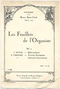 D 197  Partitions Les Feuilles De L'Organiste Janvier 1924 - Instruments à Clavier