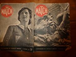 1939 MATCH:Les Infirmières-parachutistes;Bagnes D'Hitler;Sisawong Vong (Laos;Bao Dai (Annam;Sisowath Moniwong (Cambodge - Magazines & Papers