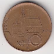 @Y@   Tsjechië   10 Korun    1995        (4891) - Czech Republic