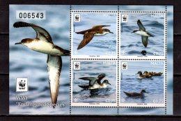 2016 Malta - WWF Issue - Schwarzschnabel-Sturmtaucher (Puffinus Puffinus) - Numbered MS Paper -MNH**