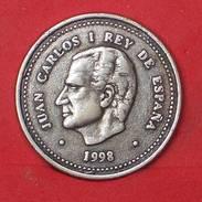 SPAIN 100 PESETAS 1998 - REPLICA 25MM-5GRS   - 2 SCANS - (Nº17830) - Spain