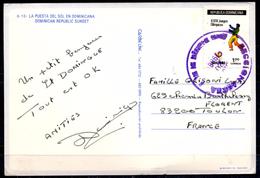 Dominican Republic CP Postcard Postkarte Tarjeta Postal Seoul 1988 1988 Summer Olympics Olympic Games Judo