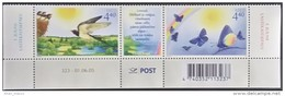 Estonia, 2005, Swallows, Butterflies, MNH