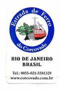 TICKET TRANSPORT TRAIN   BRESIL  Rio De Janeiro - Chemins De Fer