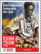 SIERRA LEONE 2016 - HIV AIDS, 1v