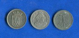 All  3  Jetons - Monétaires/De Nécessité
