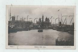 Kingston-upon-Hull, Communément Dénommée Hull (Royaume-Uni, Yorkshire) : Princes Dock In 1910 (lively) PF. - Hull
