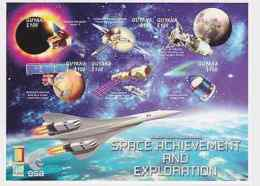 Guyana - Space Achievement & Exploration - Sc 3503 S/H MNH IMPERFORATE