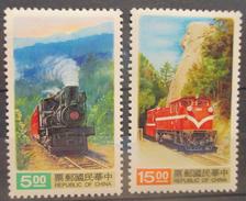 Taiwan  - MH* - 1992  # 2867/2868