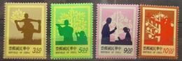Taiwan  - MH* - 1993  # 2911/2914