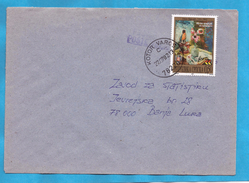 2001  224  ARTE GEMAELDE    BOSNIA HERZEGOVINA REPUBLIKA SRPSKA   BRIEF  INTERESSANT