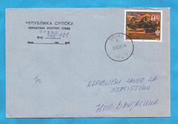 2002  262   BOSNIA HERZEGOVINA REPUBLIKA SRPSKA ARTE PITTURA  BRIEF  INTERESSANT