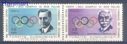 Turkey 1967 Mi 2061-2062 MNH -  Others Others  ( ZE2 TRKpar2061-2062 )