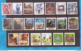 2000-2007 KOSOVO EUROPA CEPT KOMPLET SAMMLUNG NEBVER HINGED
