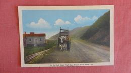 Ox Cart  Cabot Trail  Nova Scotia > Cape Breton  Ref --2491 - Cape Breton