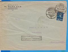 NICE COVER NICE STAMPS KING MICHEL CENSORSHIP TIMISOARA 23 ROMANIA 1943 POSTAL HISTORY
