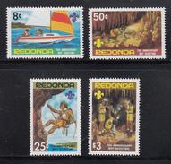 Redonda 1982 75th Anniversary Of Boy Scouting MNH