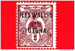 WALLIS E FUTUNA - Usato - 1920 - Stamps Of New Caledonia In 1905-07  - 2 - Wallis And Futuna