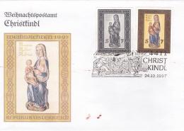 Austria Cover Christkindl 24.12.1997 (G43-75a)
