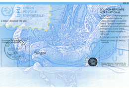 POLOGNE / POLEN -  Do36  -  Printing Date:  20160504  -  Reply Coupon Reponse ,  Antwortschein , IRC , IAS