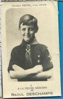 Bidprentje   Deschamps   Braine- L'Alleud   Scoute