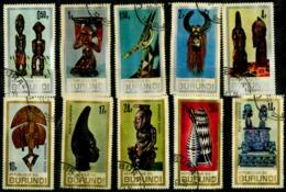 Burundi Scott N° 202/206.C36/C40. Oblitérés