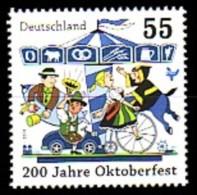 Allemagne Deutschland 2645 Oktoberfest , Manége , Cycle , Musique