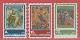 1985 ** (sans Charn., MNH, Postfrish)  Yv  644/6       Mi  648/50    SG 670/2