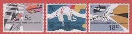 1986 ** (sans Charn., MNH, Postfrish)  Yv  662/4       Mi  666/8    SG 689/91
