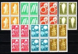 BULGARIA / BULGARIE - 1965 - Produits Agricoles - 7v** Bl De 4