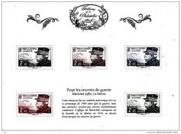 France 2014** Trésors De La Philatélie / Le Maréchal Joffre / Tirage Limité - WW1 (I Guerra Mundial)