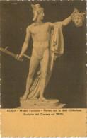 ROMA  MUSEO  VATICANO  PERSEO  CON LA TESTA  DI  MEDUSA  ---CANOVA--    2  SCAN    (NUOVA) - Sculture