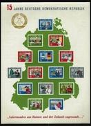 DDR - Block Nr. 19 - 15 Jahre DDR Postfrisch (*)