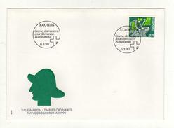 Enveloppe 1er Jour Oblitération BERN 06/03/1990