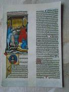 D146659  Gemeentemuseum ROERMOND - Miniatuur Uit Corpus Juris Civilis  Erste Helft 14e Eeuw -book - Vellum Parchement - Museum