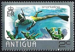 Antigua 1976 - Snorkelling ( Mi 434 - YT 431 ) MNH**