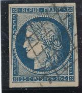 N°N°4 BLEU FONCE GRILLE 1849.