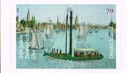 """Bund 2017, Michel# 3279 ** 200 Jahre Dampfschiff""""Die Weser"""" Selbstklebend, Self-adhesive - [7] Federal Republic"""