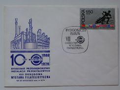 World Championship Speedway Chorzow   1973  Stamp / Poland  FDC /