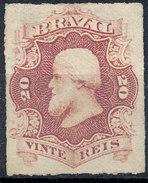 Stamp Brazil 1876  Scott #62 20 Reis Lot#45 - Ungebraucht