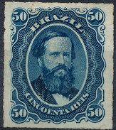 Stamp Brazil 1876  Scott #63 50 Reis Lot#46 - Ungebraucht