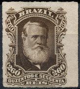 Stamp Brazil 1878  Scott #74 260 Reis Lot#51 - Ungebraucht
