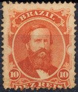 Stamp Brazil 1866  Scott #53 10 Reis Lot#56 - Neufs