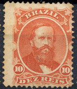 Stamp Brazil 1866  Scott #53 10 Reis Lot#57 - Neufs